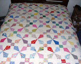 Vintage Quilt, Handmade vintage quilt
