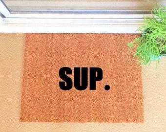 """Sup MEDIUM 18""""x 24"""" Heavy Duty Coir Funny Doormat / Welcome Mat / Doormat /"""