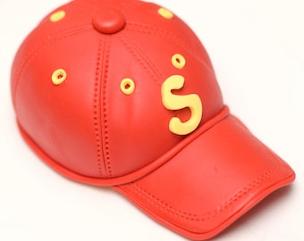 Fondant Baseball Cap 3D Cake Topper