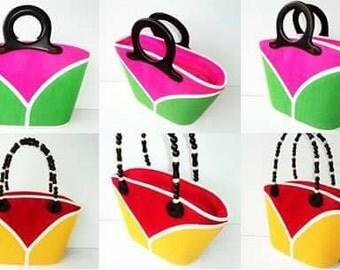 3pcs two Color Combination Native Bags