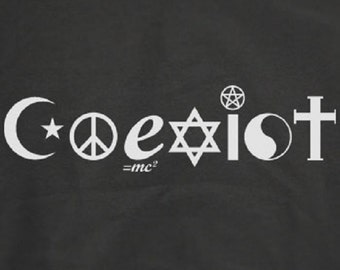 Coexist T-Shirt cool gift for Men/Woman best price Shirt