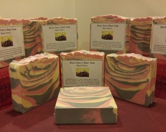 Scented soap - Black Cherry Blast -  uplifting and fresh