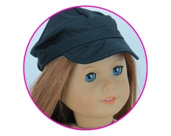 Cap for 18 inch doll, blank cap, fits american girl doll