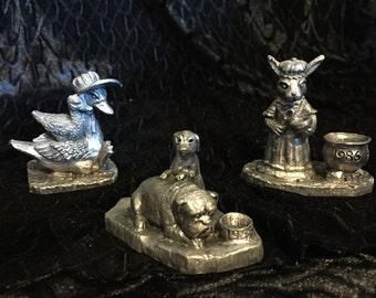 Michael Ricker Pewter Figurines