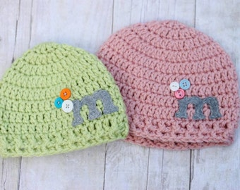 Personalized Baby Hats