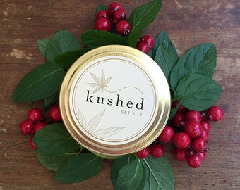 PanamaRed travel tin - Red currant, blood orange and cannabis. Subtly infused with notes of mangosteen, bergamot and neroli.
