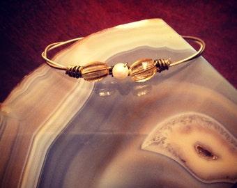 Beaded Guitar String Bracelet