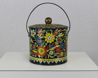English Tin Container