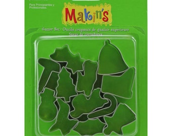 Makin's Clay Cutters (12 Pack) - Christmas - Cookie Cutters