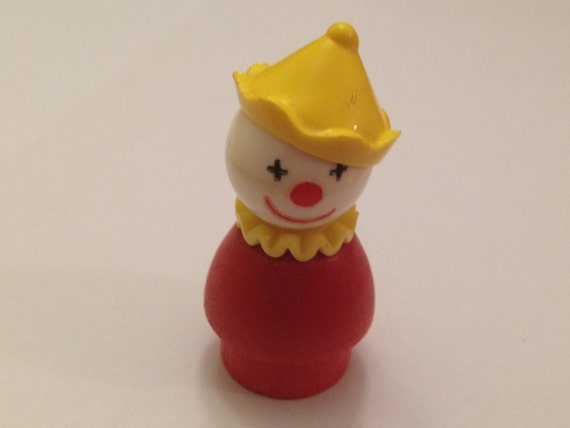 Vintage fisher price little people clown for Clown fish price