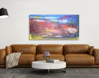 Abstract Painting - Contemporary Wall Art Decor,Painting on Canvas,contemporary fine art