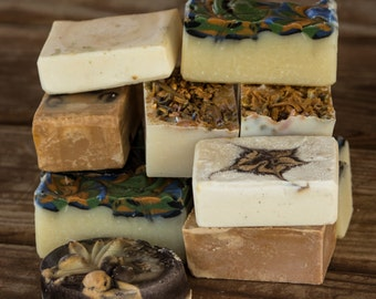 Soap Sale, All Natural Soap, Handmade Soap, Cold Process Soap, Vegan Soap