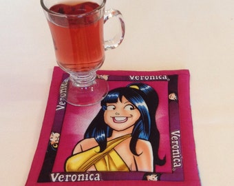 Veronica mug rug or potholder