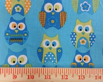 Owl Fabric By The Yard