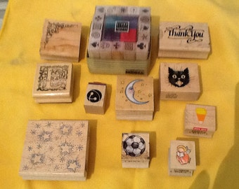 Stamp set 27 piece - most new