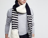Pre-Winter Sale Knitted Pocket Scarf Uni-sex