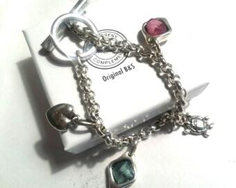 Customizable bracelet chain beads