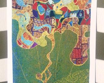Rosh Hashanah - 8x16 Art Print