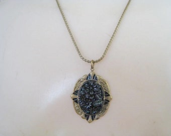 Old Vintage Necklace w/ Drop