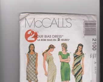 McCalls Bias Dresses pattern