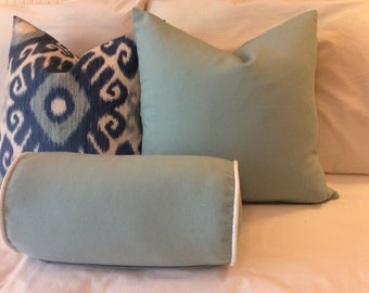 Indigo/Spa Blue Pillow Cover Group