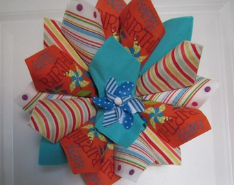 Z SM Birthday Pinwheel Wreath