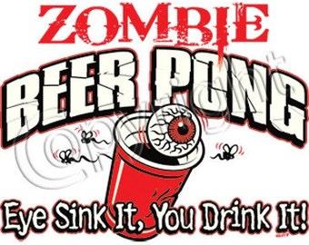 Zombie Beer Pong