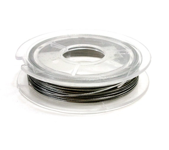 10 meters silver beading wire 038 wire for jewelry 1