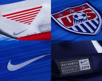 USA away soccer jersey 2015