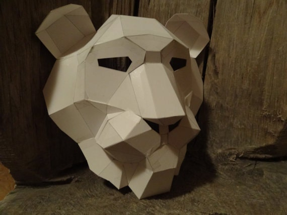 make your own lion mask from recycled paper pdf pattern pdf. Black Bedroom Furniture Sets. Home Design Ideas