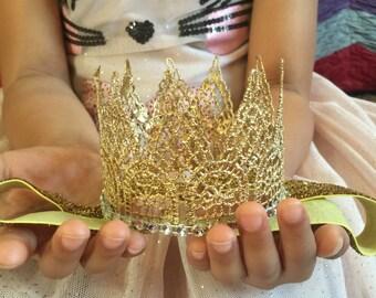 new born photo prop, infant crown, birthday headband, first birthday crown, toddlers crown, first birthday crown, crown headband, girl crown
