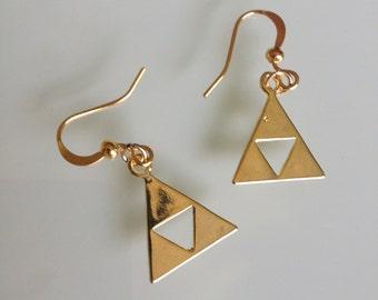 Zelda Triangle earrings