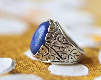 lapis lazuli ring for man gifts R68