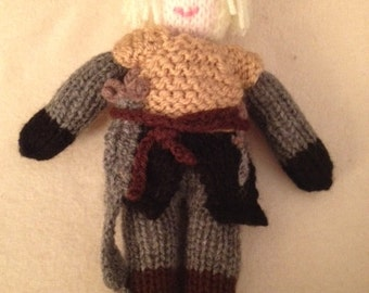 Game of Thrones Knitted Character Brienne of Tarth