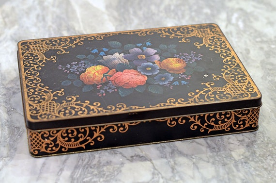 Vintage Tin Box Barringer Wallis And Manners Mansfield