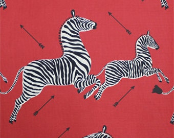 2 Yards-Scalamandre Zebras/Pillows/Drapery/Upholstery Fabric