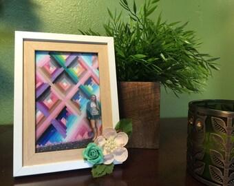 4 x 6 Flower Frame