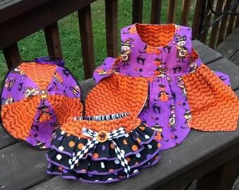 Halloween 3-piece jumper set