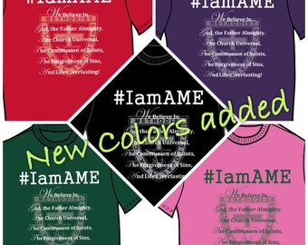 Available Now: I Am AME Shirt