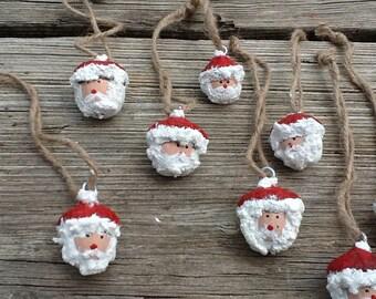 Acorn Santa Ornament