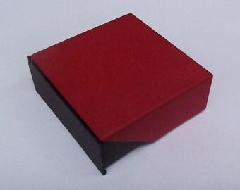 Jewelry gift box, 500 boxes (7cm x 7cm x 3cm)