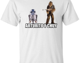 Arturito and Chuy White T Shirt