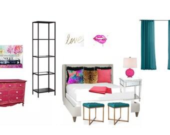 Services de Design d'intérieur : chambre à coucher