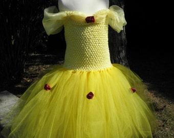 Robe Tutu Princesse Belle et la Bête , beauty and the beast , tutu dress, dress princess