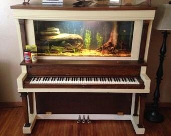 Custom Piano Aquarium