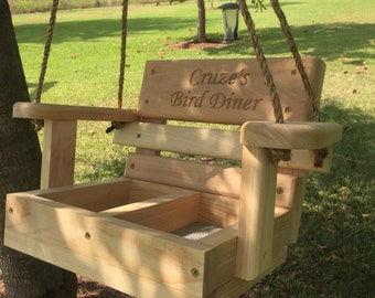 Cypress Swing Bird Feeder
