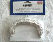 """Destash. 3.5"""" silver purse frame"""