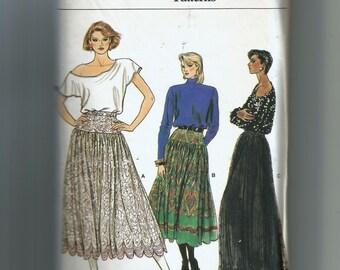 Vogue Misses'  Skirt Pattern 9148