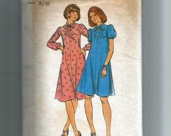 Butterick Young Junior Dress Pattern 4332
