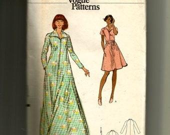 Vogue Misses' Robe Pattern 8607